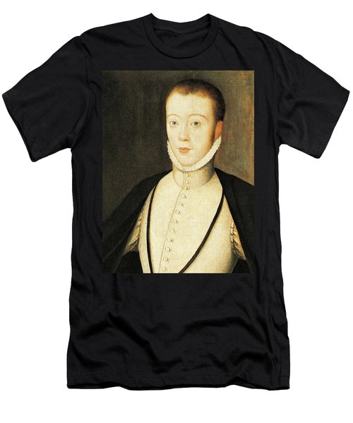 Henry Stewart Lord Darnley Married Mary Queen Of Scots 1565 Men's T-Shirt (Athletic Fit)