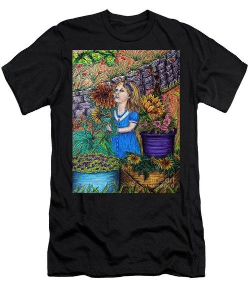 Her First Garden Men's T-Shirt (Athletic Fit)