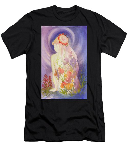 Herbal Goddess  Men's T-Shirt (Athletic Fit)