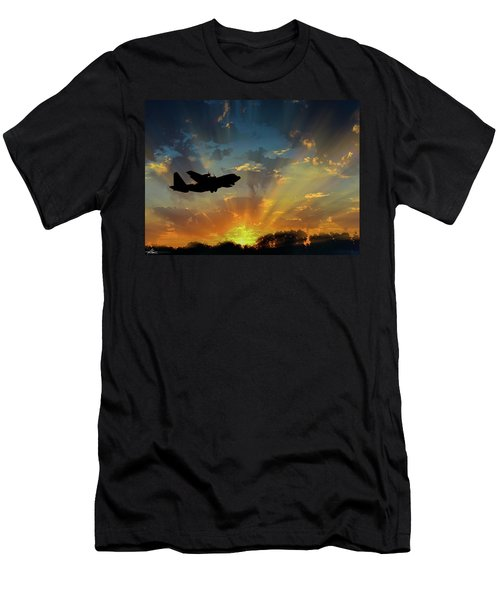 Hercules In The Morning Men's T-Shirt (Athletic Fit)