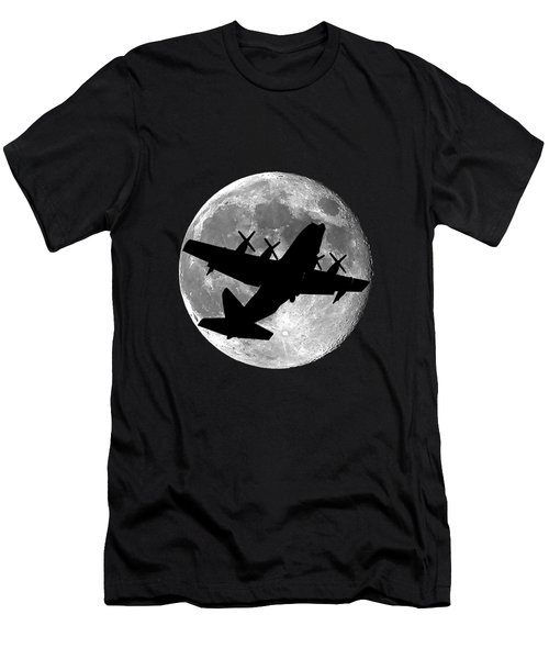 Hercules Moon .png Men's T-Shirt (Slim Fit) by Al Powell Photography USA