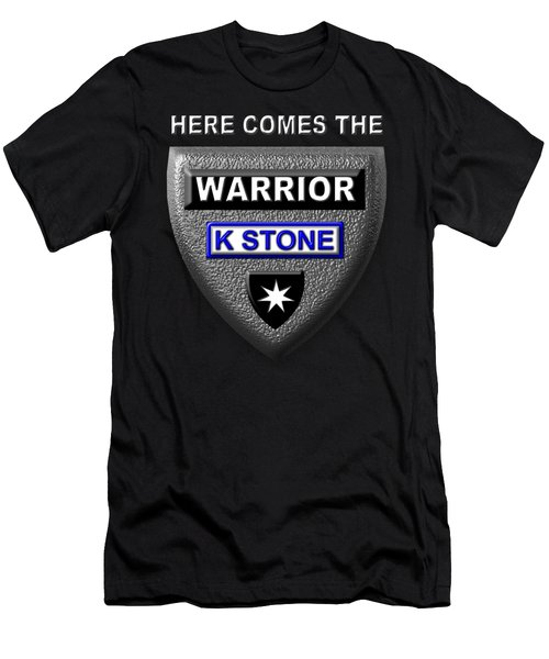 Here Comes The Warrior Men's T-Shirt (Athletic Fit)