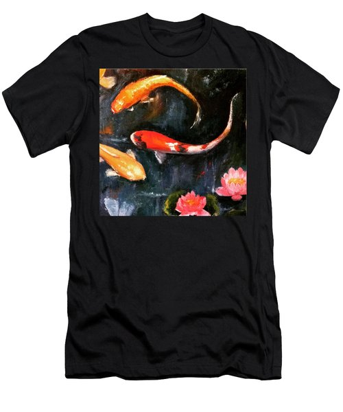 Here's Some Zen For The Day. :) #koi Men's T-Shirt (Athletic Fit)