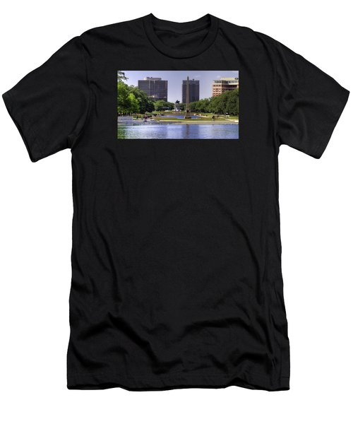 Hermann Park Men's T-Shirt (Slim Fit) by Tim Stanley