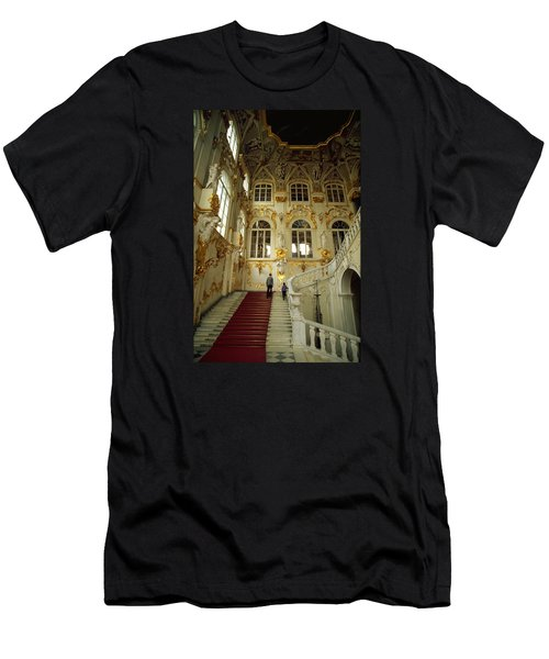 Hermitage Staircase Men's T-Shirt (Athletic Fit)