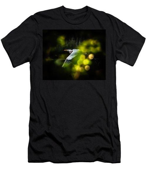 Heron Launch Men's T-Shirt (Athletic Fit)