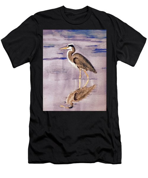 Heron No. 2 Men's T-Shirt (Athletic Fit)