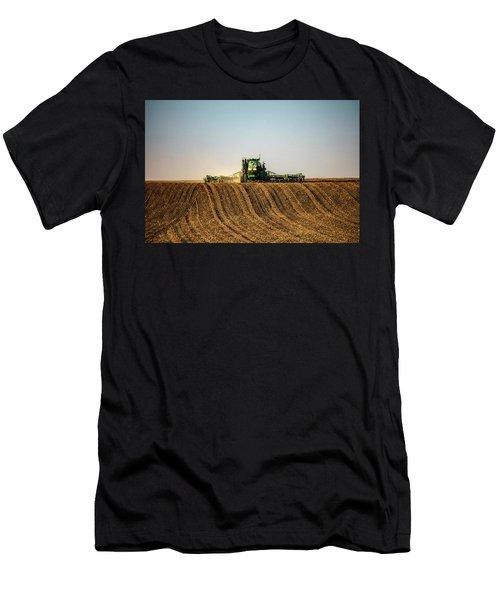 Herringbone Sowing Men's T-Shirt (Athletic Fit)