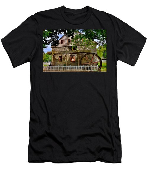 Herr's Grist Mill Men's T-Shirt (Athletic Fit)