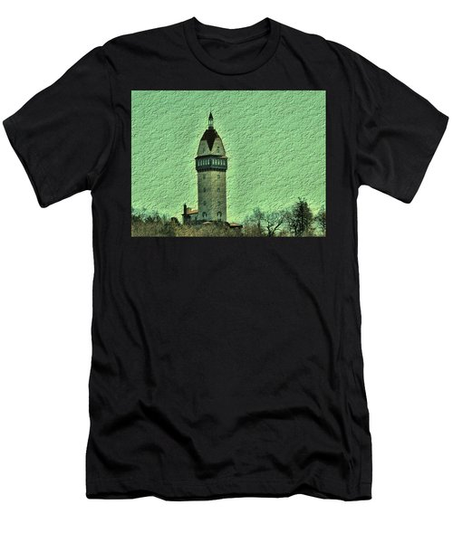 Heublein Tower Men's T-Shirt (Athletic Fit)