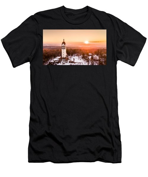Heublein Tower In Simsbury Connecticut Men's T-Shirt (Athletic Fit)