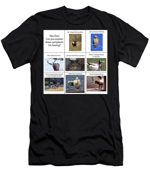 Men's T-Shirt (Athletic Fit) featuring the photograph Hey Doc by Shane Bechler