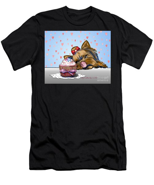 Hey There Cupcake Men's T-Shirt (Athletic Fit)
