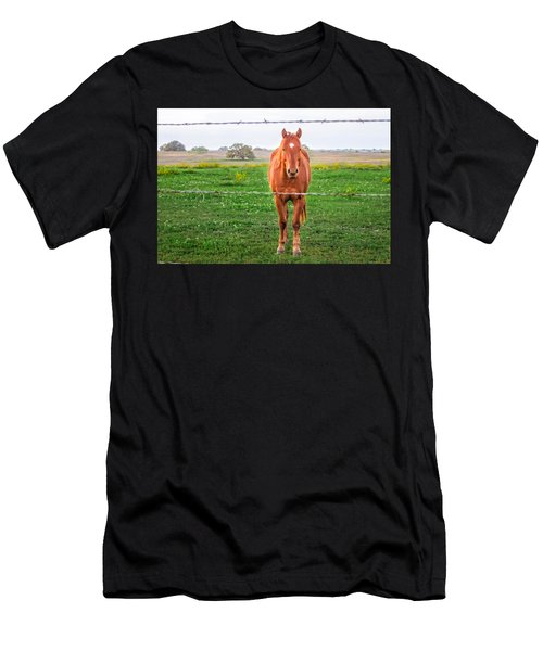 Men's T-Shirt (Athletic Fit) featuring the photograph Hey You - Ya You by Melinda Ledsome