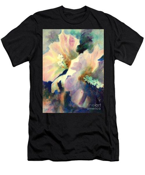 Hibicus Up Close Men's T-Shirt (Athletic Fit)