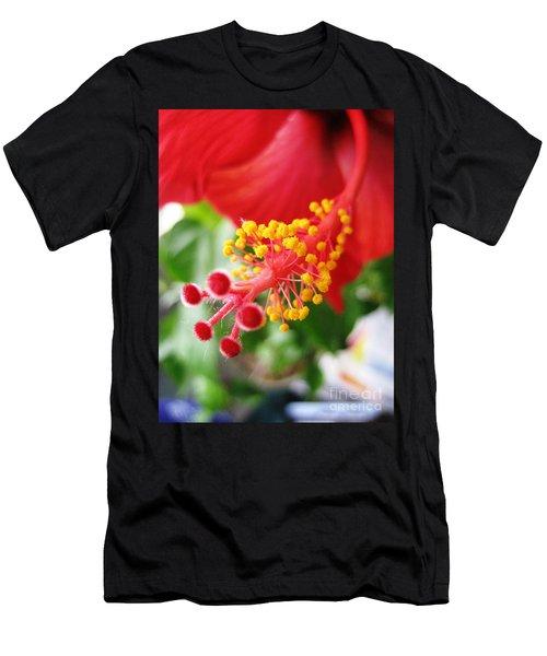 Hibiscus #3 Men's T-Shirt (Athletic Fit)