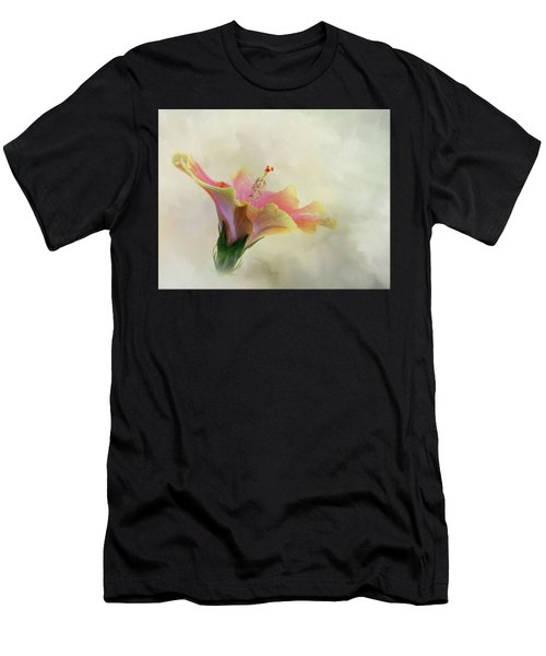 Hibiscus Art Men's T-Shirt (Athletic Fit)