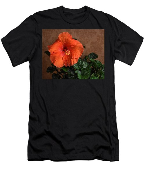 Hibiscus Fine Art Men's T-Shirt (Athletic Fit)