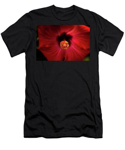 Hibiscus Men's T-Shirt (Slim Fit) by Jay Stockhaus
