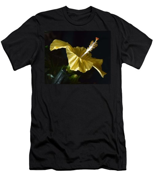 Hibiscus Men's T-Shirt (Athletic Fit)