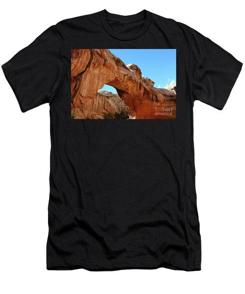 Hickman Bridge Capitol Reef Men's T-Shirt (Athletic Fit)