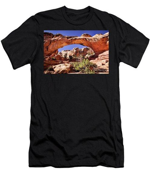 Men's T-Shirt (Athletic Fit) featuring the photograph Hickman Bridge by Scott Kemper