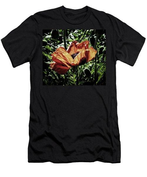 Hidden Beauty  Men's T-Shirt (Slim Fit) by Karen Stahlros