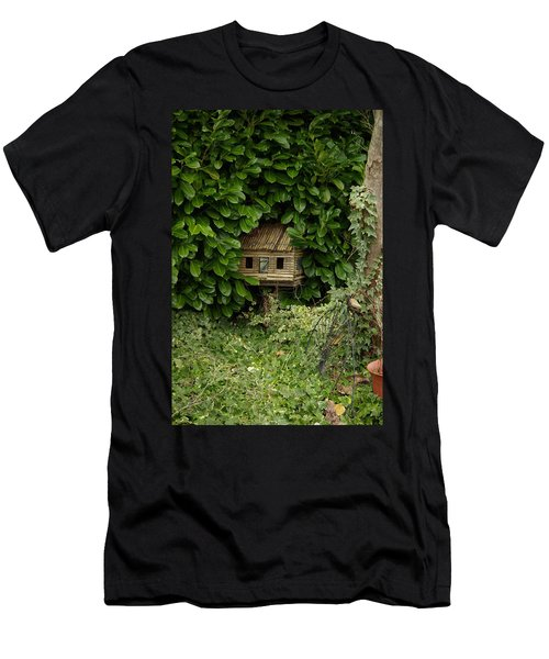 Hidden Birdhouse Men's T-Shirt (Athletic Fit)