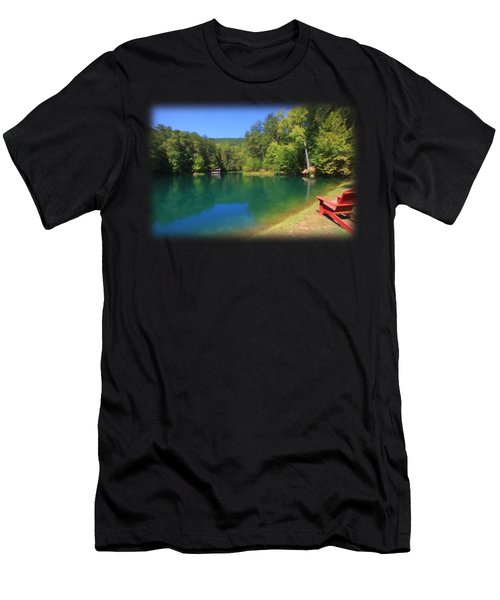 Hidden Hollow Men's T-Shirt (Athletic Fit)