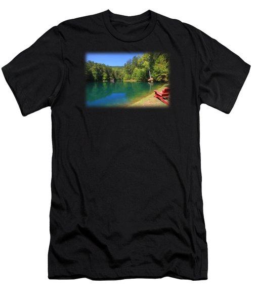 Hidden Hollow Men's T-Shirt (Athletic Fit)