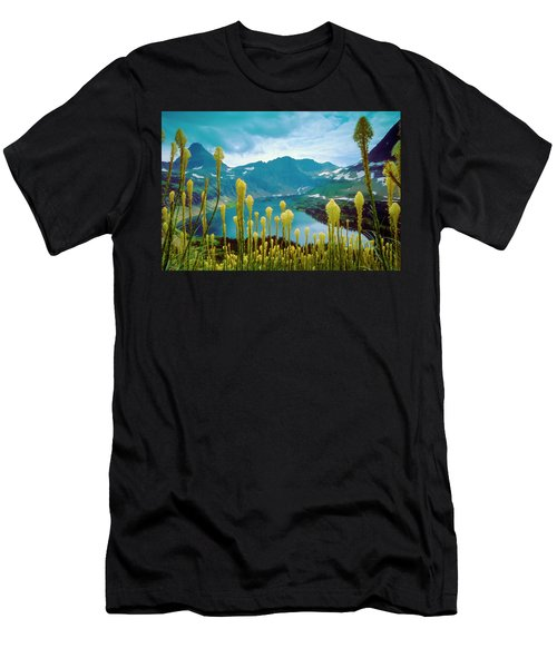 Hidden Lake, Gnp Men's T-Shirt (Athletic Fit)