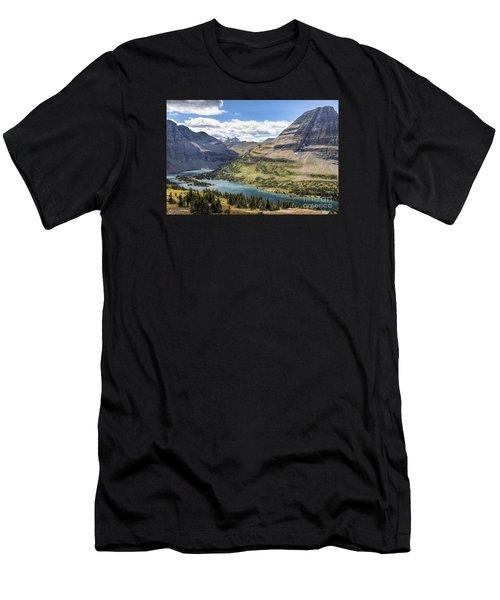 Hidden Lake Overlook Men's T-Shirt (Athletic Fit)