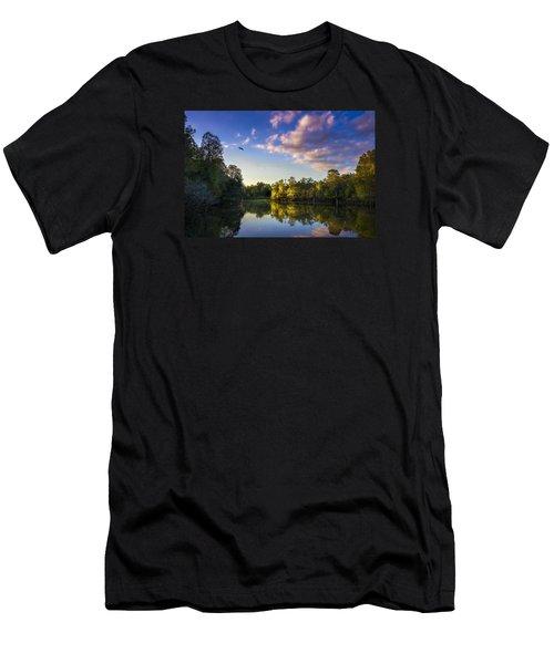 Hidden Light Men's T-Shirt (Athletic Fit)