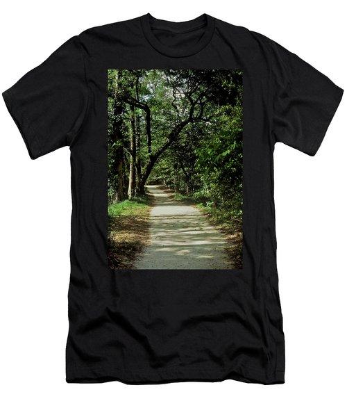 Hidden Path Men's T-Shirt (Athletic Fit)