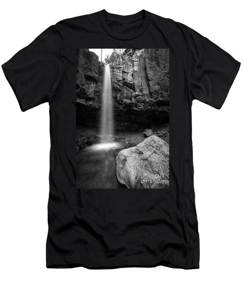 Hidden Waterfall Men's T-Shirt (Athletic Fit)