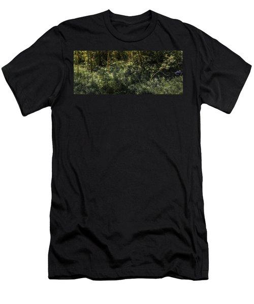 Hidden Wildflowers Men's T-Shirt (Athletic Fit)