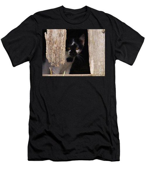 Hide And Seek Men's T-Shirt (Slim Fit) by J L Zarek