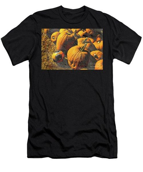 Hiding In Plain Pumpkin Men's T-Shirt (Athletic Fit)