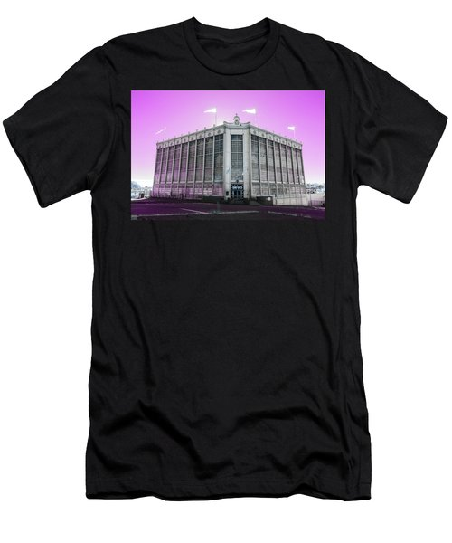 Higgins Armory In Infrared Men's T-Shirt (Athletic Fit)