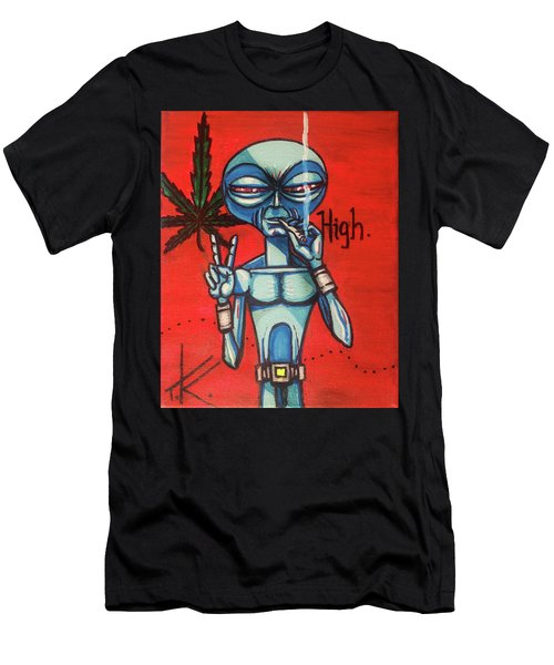 High Alien Men's T-Shirt (Athletic Fit)