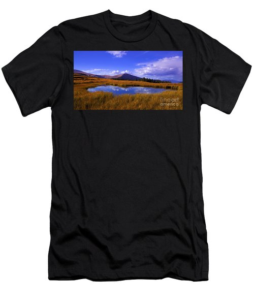 High Country Pond Men's T-Shirt (Athletic Fit)