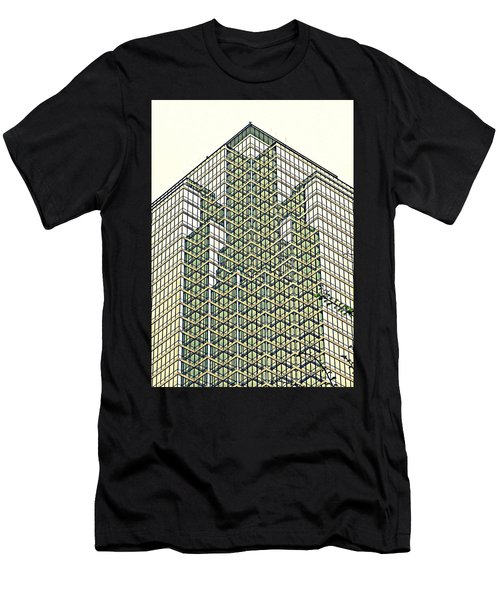 Downtown Dallas Men's T-Shirt (Athletic Fit)