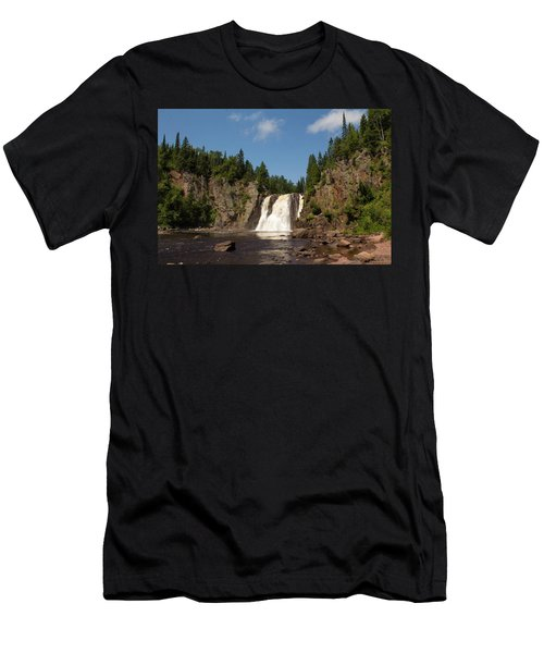 High Falls At Tettegouche State Park Men's T-Shirt (Athletic Fit)