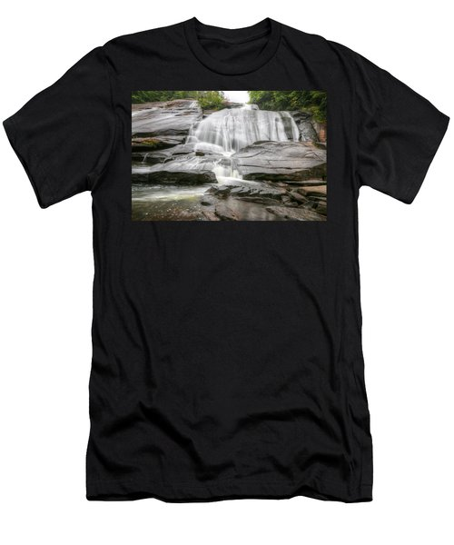 High Falls Of Dupont State Forest Men's T-Shirt (Athletic Fit)