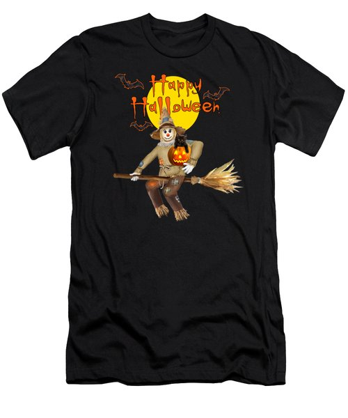 High Flying Scarecrow Men's T-Shirt (Athletic Fit)