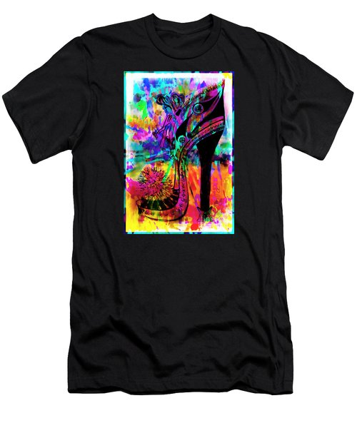 High Heel Heaven Abstract Men's T-Shirt (Athletic Fit)