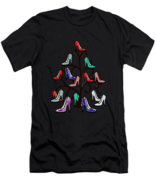 High Heels Tree Men's T-Shirt (Athletic Fit)