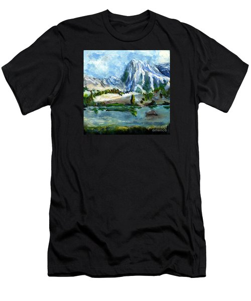 High Lake First Snow Men's T-Shirt (Athletic Fit)