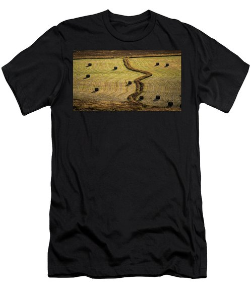 High Mountain Hay Field #1 Men's T-Shirt (Athletic Fit)