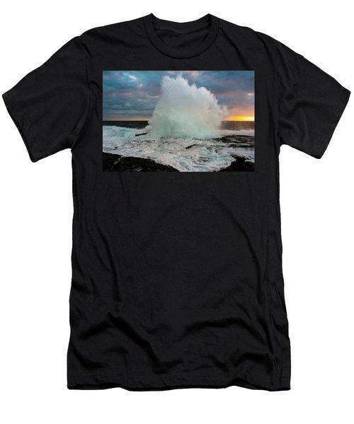 High Surf Explosion Men's T-Shirt (Athletic Fit)